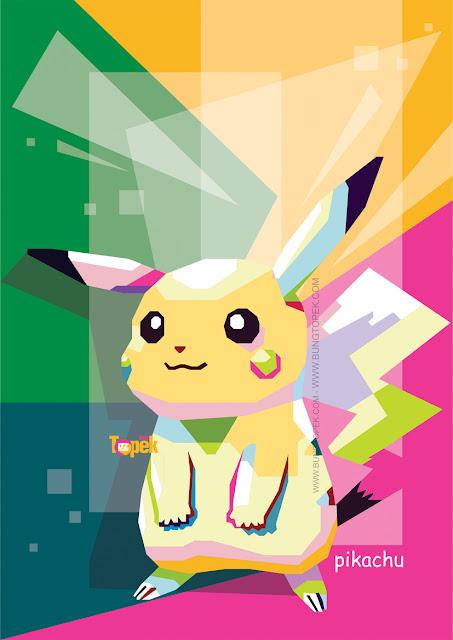 WPAP Pokemon - Pikachu