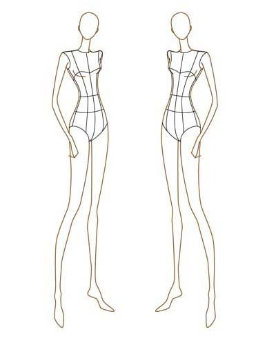 65 exemplos de croquis e Ilustrações de Moda Croquis, Fashion - resume for clothing store
