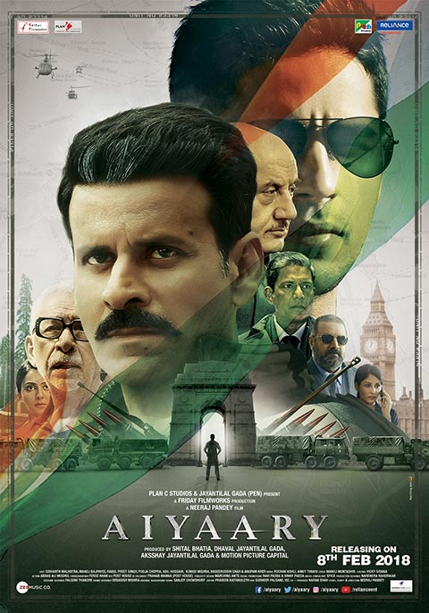 Aiyaary (2018) Hindi 1080p HDTVRip x264 1.6GB