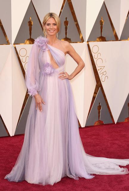 Oscar 2016 Heidi Kum vestida de Marchesa