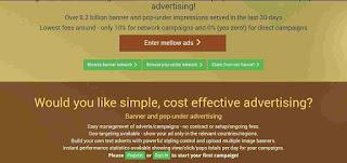 Cara tambang bitcoin terbesar di mellow ads