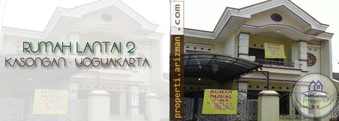 Dijual Rumah Lantai 2 Kasongan Yogyakarta