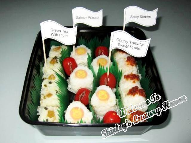 Mini Japanese Onigiri Rice Balls Recipe