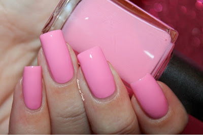 "Swatch of the nail polish ""506 - Venus Pink"" from Kiko"