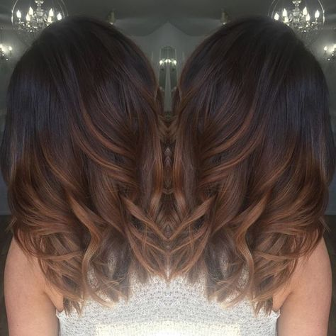 Top 15 chocolate brown hair with highlights hairstyles hair a tiger eye is an ancient stone worn for protection and confidence its known for its rich browns and golds these colors are seen blended through pmusecretfo Gallery