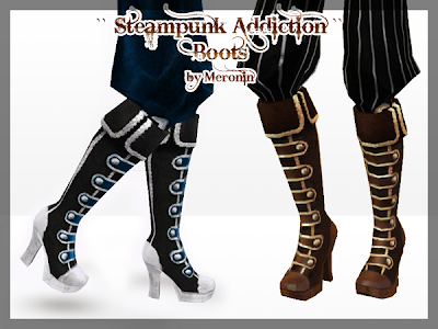 High Blood Miniset And Steampunk Addiction Set By Meronin