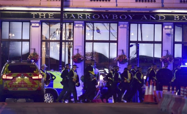 Albanian heroes in London's terrorist attack