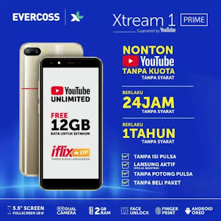 Evercoss Xtream 1 Prime (U6)