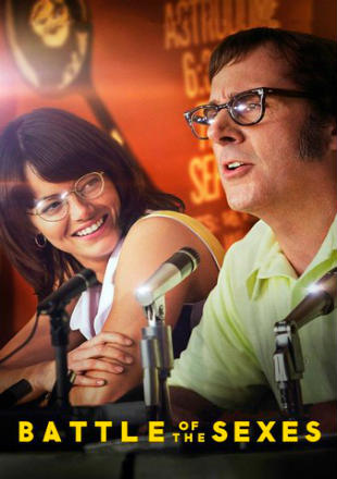 Poster of Battle of the Sexes 2017 BRRip 1080p Dual Audio Hindi English