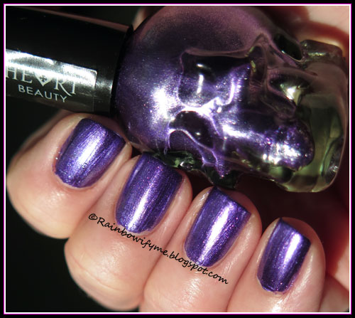 "Blackheart by Hot Topic ~ ""Purple metallic"""