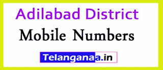 Bela Mandal Sarpanch Wardmumber Mobile Numbers List Part II Adilabad District in Telangana State
