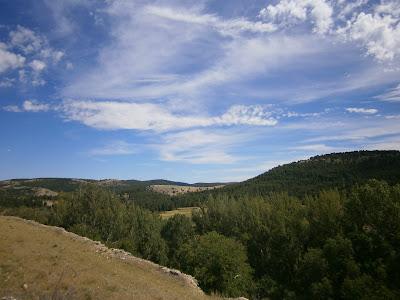Valle donde se localiza el Cañigral (Albarracín)