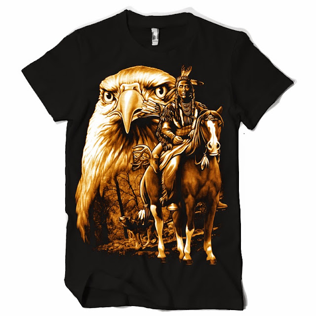 native hunter tshirts eagle