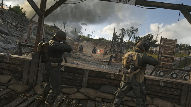 Call of Duty WWII presenta Headquarters