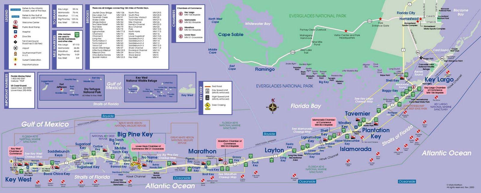Printable Map Of Florida Keys.Photo Home Site The Florida Keys
