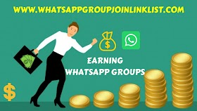 Earning WhatsApp Group Join Link List