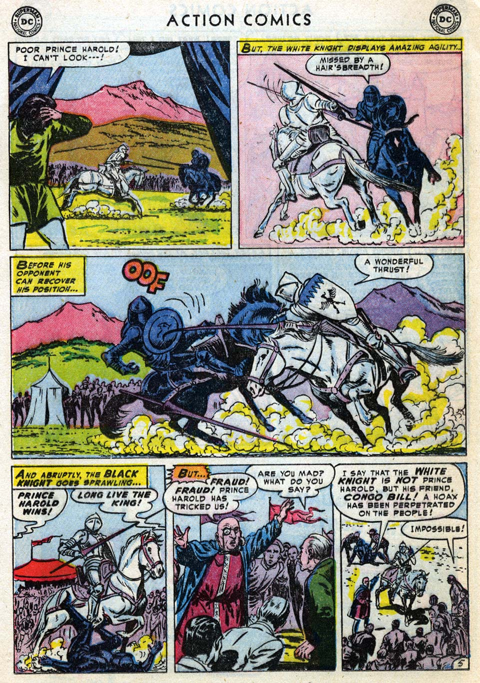 Action Comics (1938) 187 Page 20
