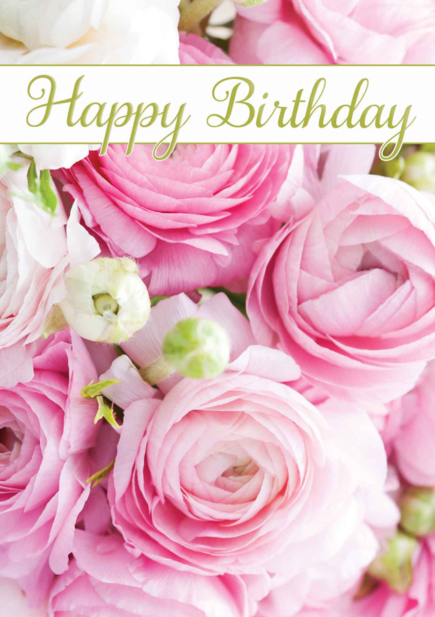 sweet happy birthday wishes flower images