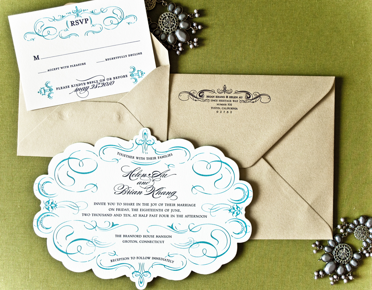 Wedding Invitation Custom Design: Destination Wedding Invitations: Five Destination Wedding