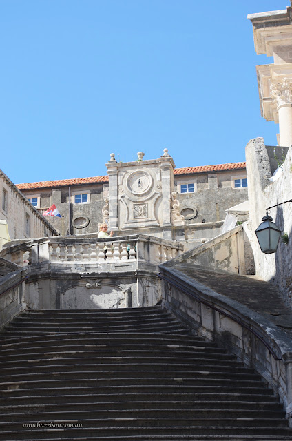 The Other Spanish Steps - Dubrovnik