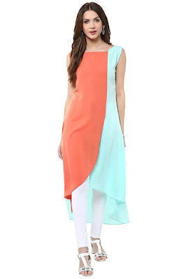 indo western maxi dress for indian girls