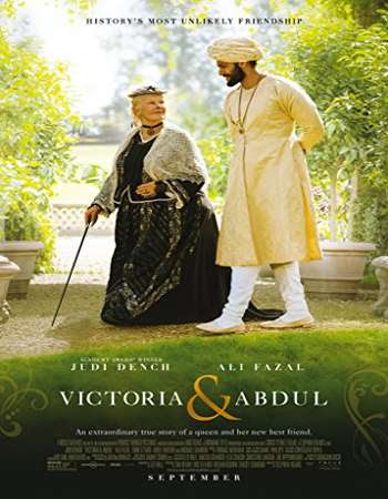 Poster Of Free Download Victoria And Abdul 2017 300MB Full Movie Hindi Dubbed 720P Bluray HD HEVC Small Size Pc Movie Only At worldfree4u.com