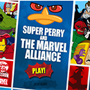 Super Perry Marvel alliance