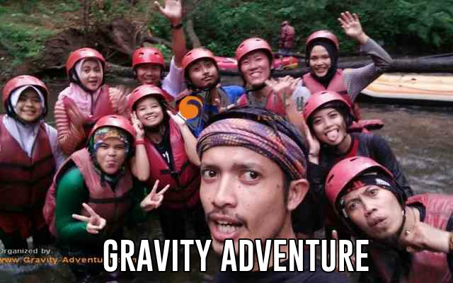 wisata rafting di bandung gravity adventure