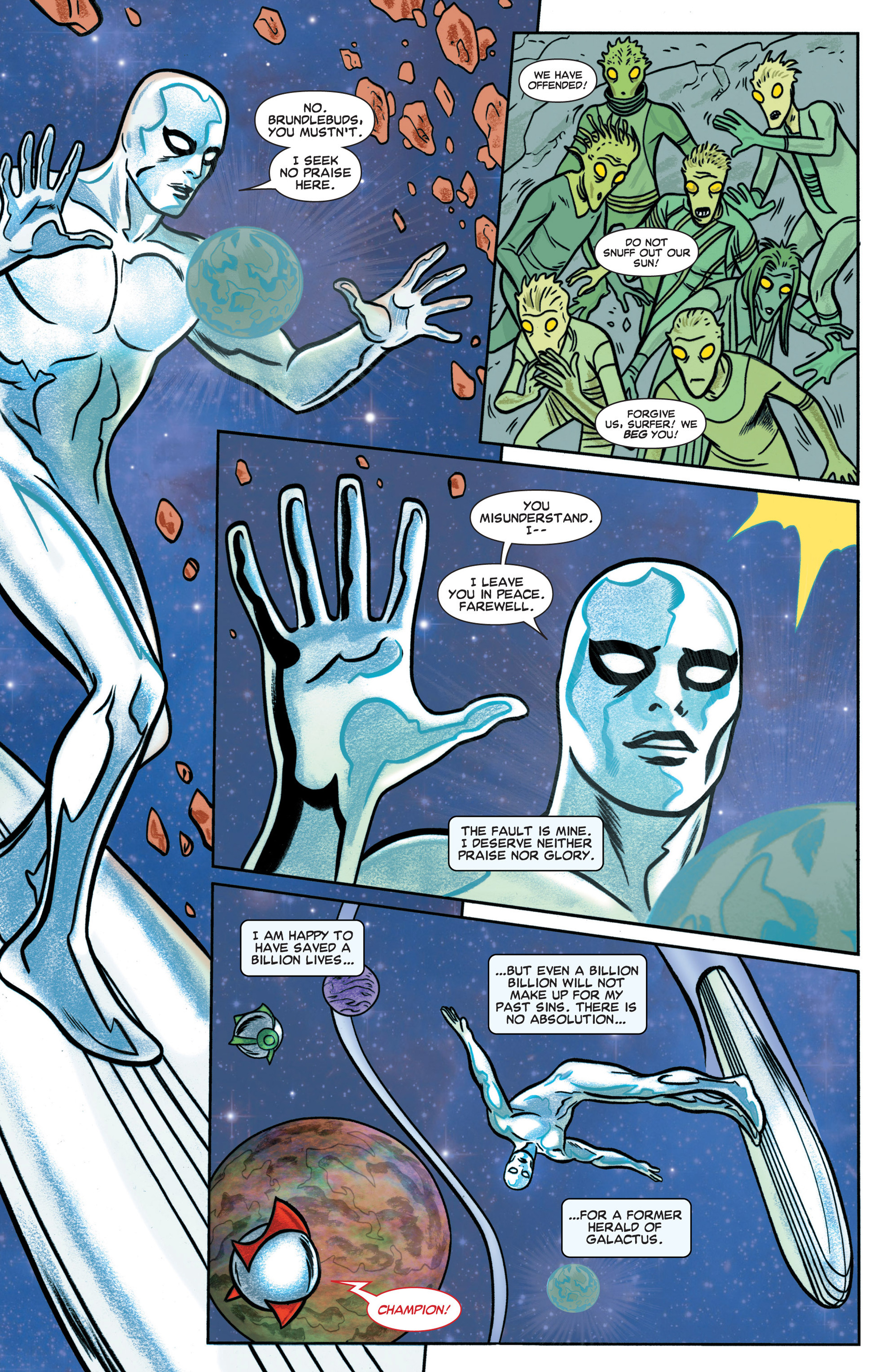 Read online Silver Surfer (2014) comic -  Issue #1 - 6