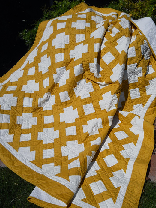 Butter Churn Quilt Free Pattern