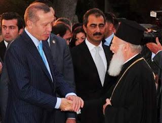 Ο Βαρθολομαίος ευλόγησε τον Ερντογάν και ευχήθηκε νίκη της Τουρκίας εναντίον των Κούρδων