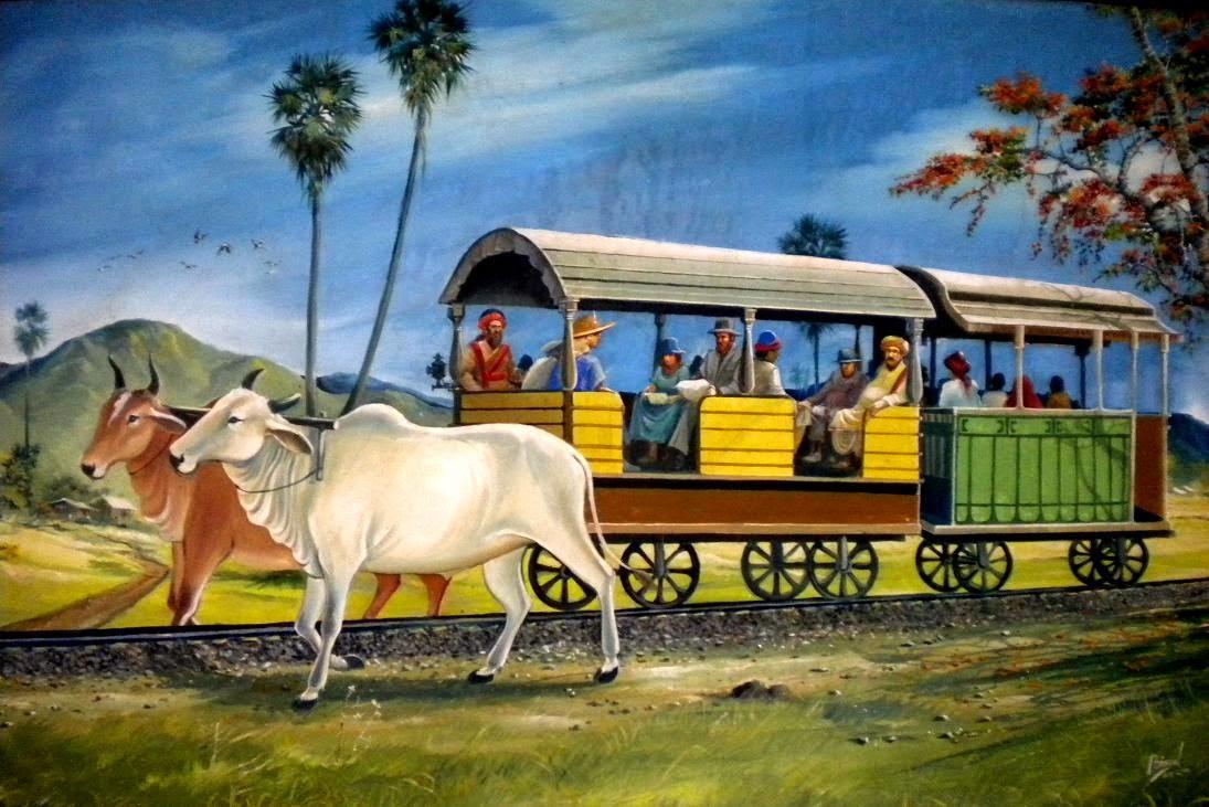 Image result for BOLLOCK HAULED TRAIN IN BARODA
