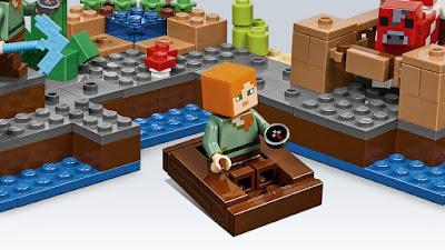 lego minecraft barco