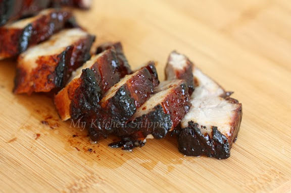My Kitchen Snippets: Homemade Char Siu (with Pork Belly