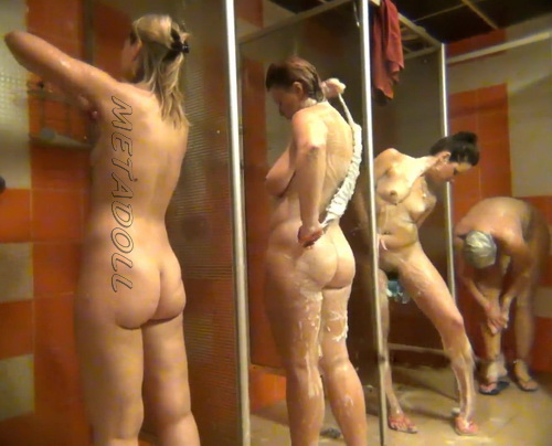 Shower Spy 239-248 (Spy Camera in a Public Shower)