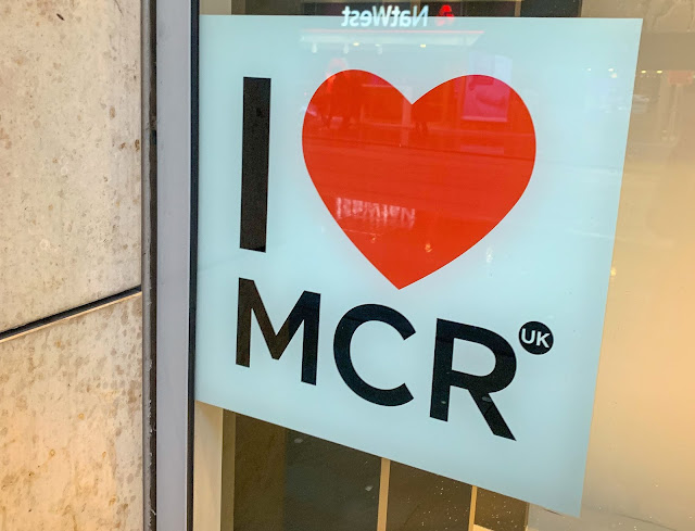 I Heart Manchester Poster