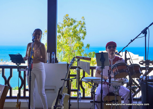 live music at GourMed Brunch The Cove Rotana
