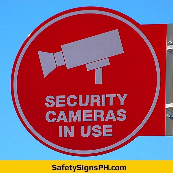 Security Cameras In Use Signage Philippines