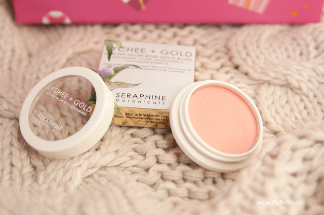 Seraphine Botanicals- Lychee + Gold Healthy Rose Blush