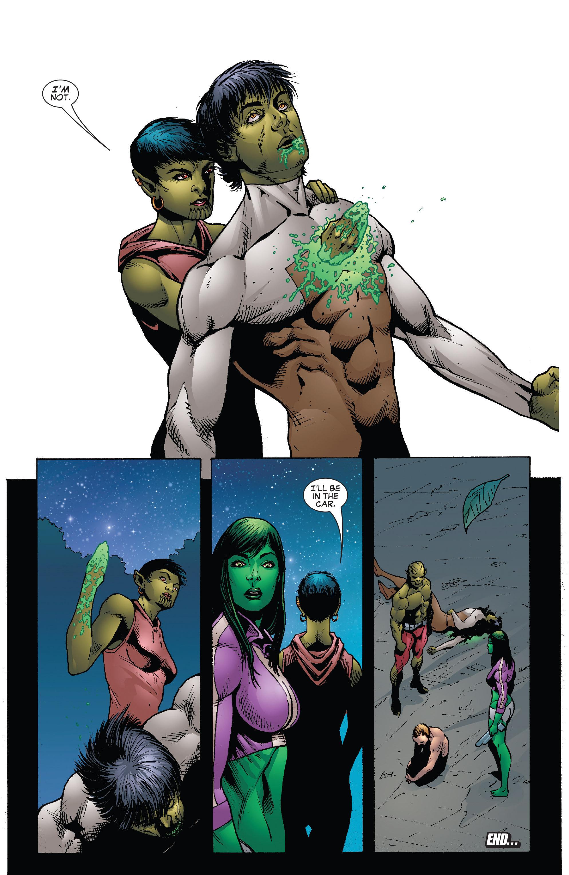 Read online She-Hulk (2005) comic -  Issue #26 - 24