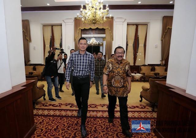 Pakde Karwo: 86 Persen Caleg Demokrat di Jatim Dukung Jokowi