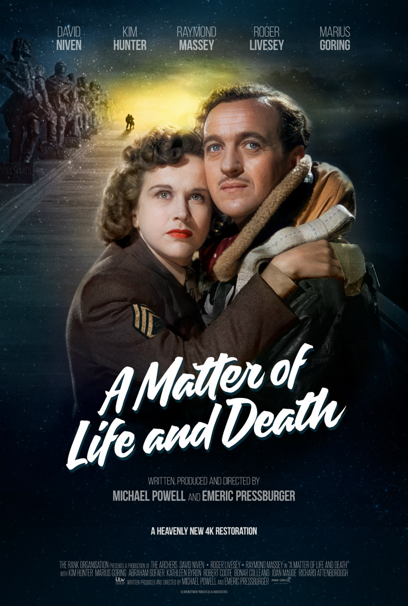 a matter of life and death poster