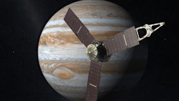 Nave Juno llegará este martes a Júpiter para su estudio
