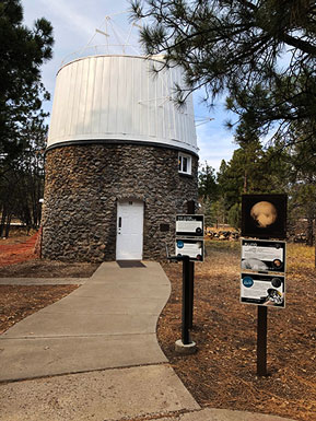 The Pluto Dome at Lowell Observatory (Source: Palmia Observatory)