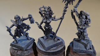 WIP - Dark Elves: Witch Elves for the Cauldron of Blood