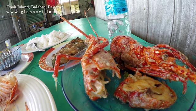 Onok Island, Balabac, Palawan, beach, lobster