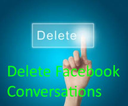 Delete Facebook Conversations