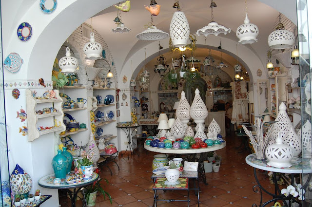 Hometown Amp Abroad Ceramic Shop Positano Italy