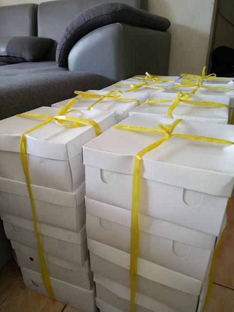 Catering nasi kotak murah di Pondok cabe Jakarta selatan 18 ribu/box