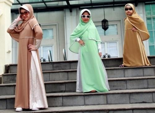 baju muslim anak branded gamis modis